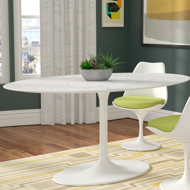 Langley Street Larkson Pedestal Dining Table