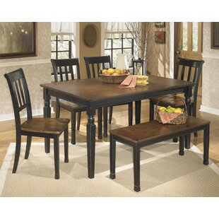 Carrol 6 Piece Dining Set Winston Porter