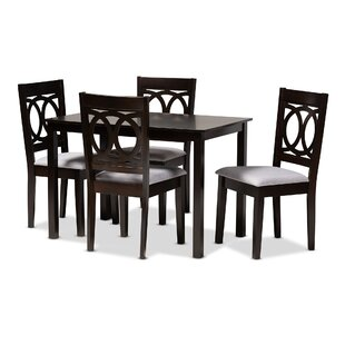 Bothell 5 Piece Dining Set Canora Grey