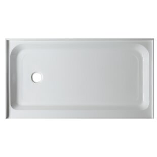 ANZZI Tier Drain Single Threshold Shower Base