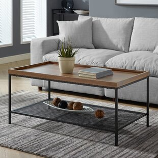 Williston Forge Poling Industrial Coffee Table