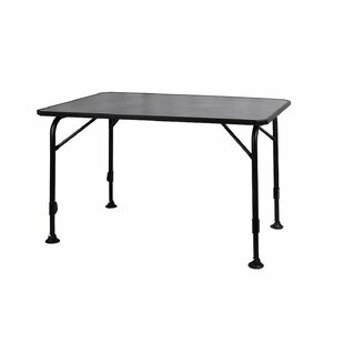 Hosea Folding Aluminium Bar Table By Symple Stuff