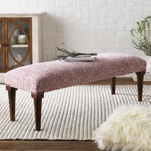 Bowdon Wood Bedroom Bench by Bungalow Rose