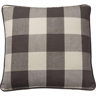 Hungerford Buffalo Checkered Cotton Throw Pillow