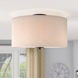 Becher 3-Light Semi Flush Mount by Darby Home Co