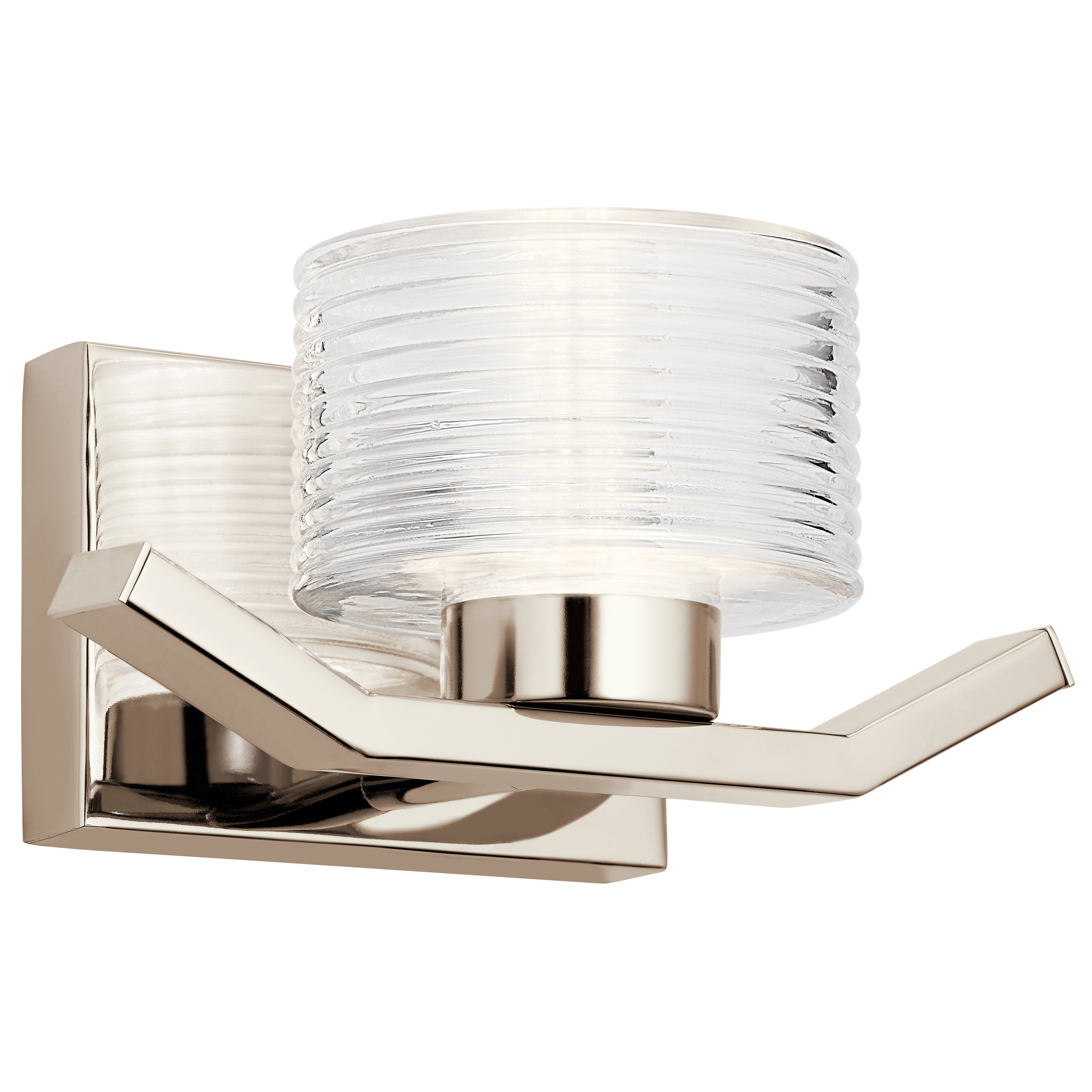 Ivy Bronx Abrego 1 Light Led Armed Sconce Wayfair Ca