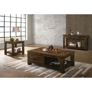 Bondurant 3 Piece Coffee Table Set