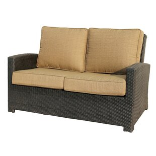 Leonore Loveseat with Cushion by Alcott Hill