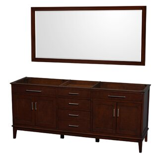 Hatton 78.5 Double Bathroom Vanity Base by Wyndham Collection