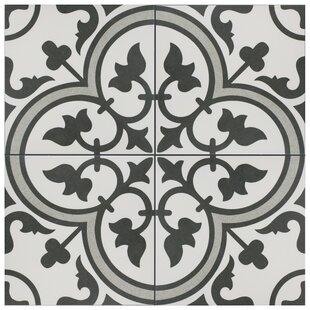 Artea 9.75 inch  x 9.75 inch  Porcelain Field Tile