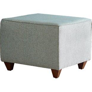 AllModern Custom Upholstery Beril Ottoman