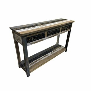 Knollwood Enticing Wooden Console Table ByRosecliff Heights
