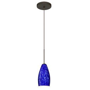Karli 1 Integrated Bulb Mini Pendant by Besa Lighting
