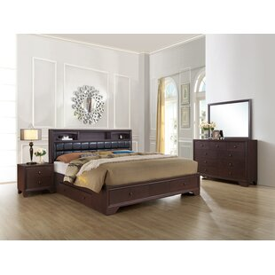 Angarano Upholstered Storage Panel Bed