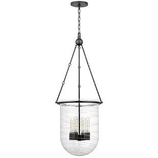 Latitude Run Carn 4-Light Urn Pendant