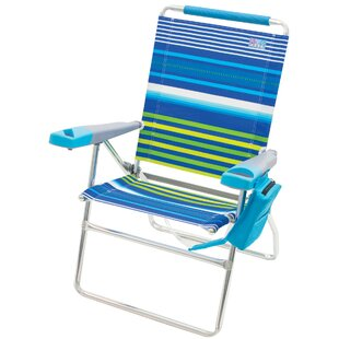 4-Position Reclining Beach Chair