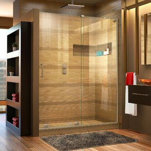 Mirage-X 60 inch  x 72 inch  Single Sliding Frameless Shower Door with Clearmax™ Technology
