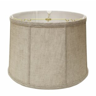 Slant Softback 15 Linen Drum Lamp Shade