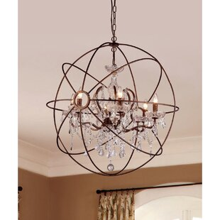 Compare 6-Light Chandelier By Warehouse of Tiffany