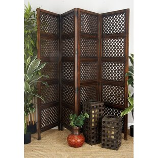Markley 4 Panel Room Divider By Bloomsbury Market For Sale