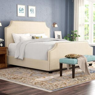 Alcott Hill Bulpitt Upholstered Panel Bed