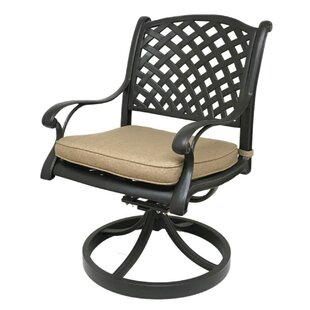 Beadle Patio Chair with Cushion (Set of 2)
