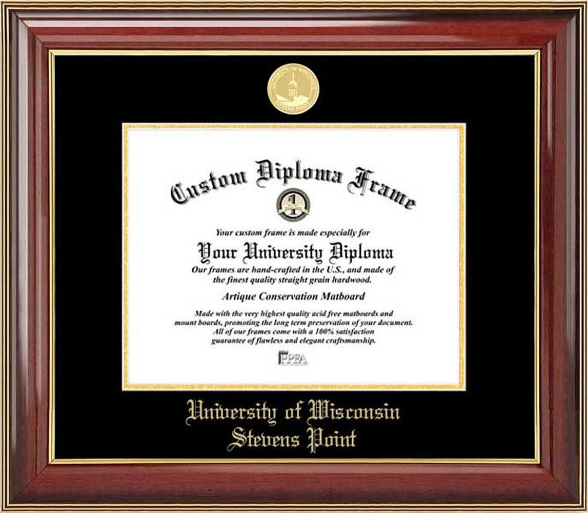 Diploma Frame Deals Universityof Wisconsin Stevens Point Picture Frame Wayfair