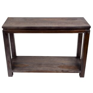 Mata Sheesham Console Table by Loon Peak