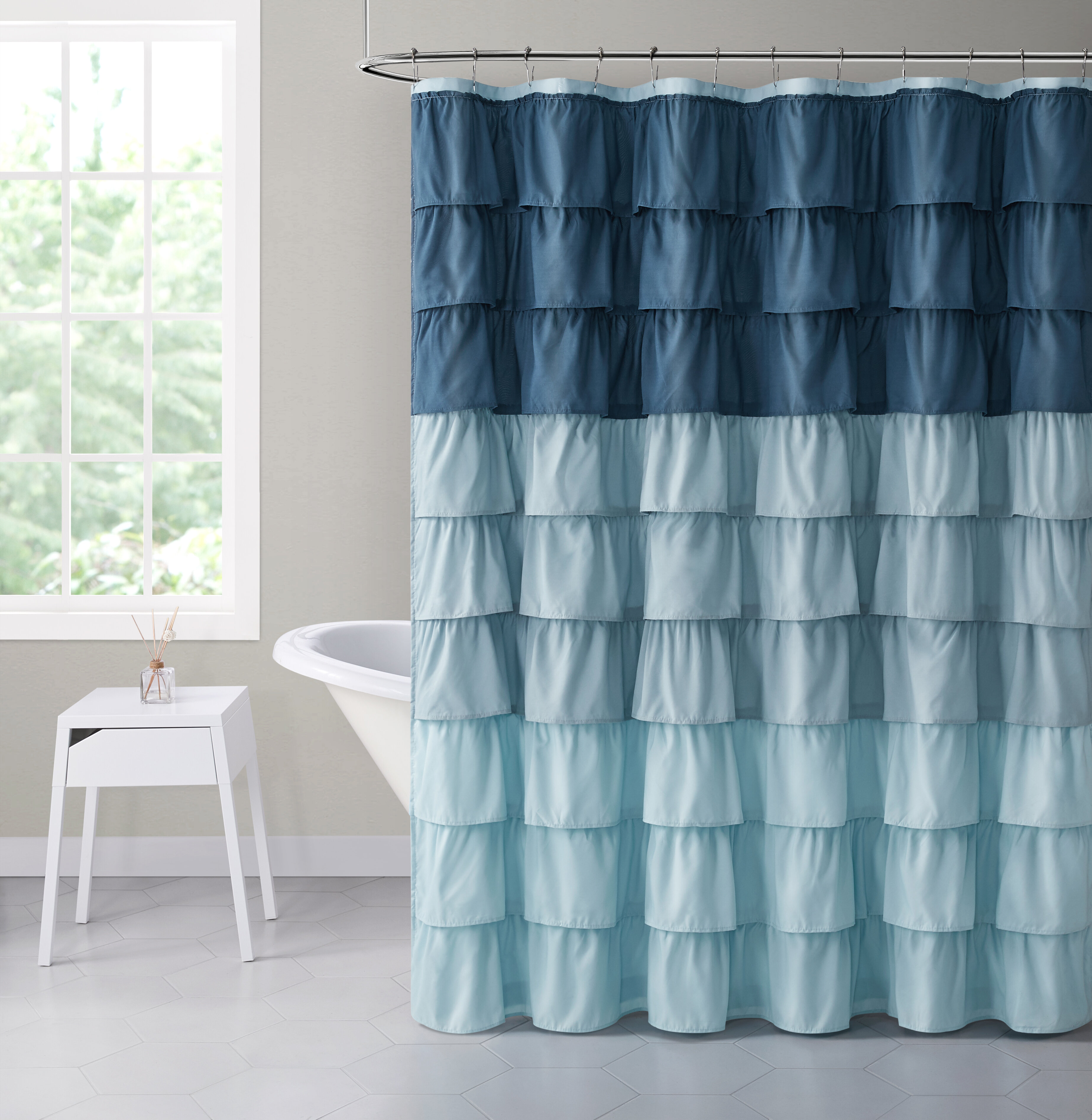 Abstract Shower Curtains Shower Liners You Ll Love In 2021 Wayfair