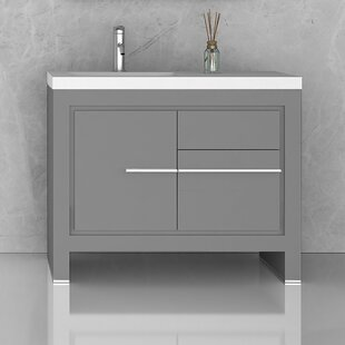 Cinar 39 Single Bathroom Vanity Set by Orren Ellis