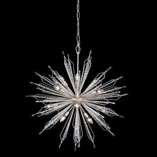 Varaluz Orbital 12-Light Sputnik Chandelier