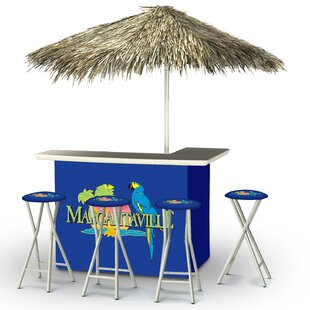 Best of Times Margaritaville Tiki Bar Set