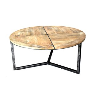 Asbury Distressed Coffee Table by Loon Peak Looking for