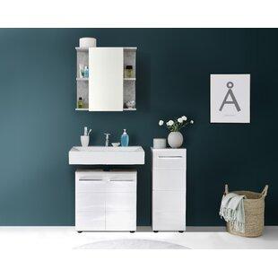 Chewton Keynsham 3 Piece Bathroom Storage Furniture Set By Wade Logan