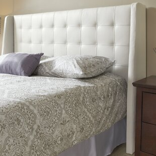 Sierra Top Grain Wingback Headboard by Lind Furniture