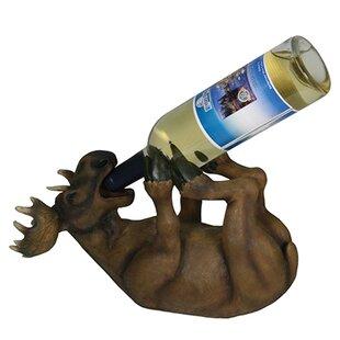 Beach Moose 1 Bottle Tabletop Wine Rack b..