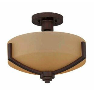 Winston Porter Arrington 2-Light Semi Flush Mount