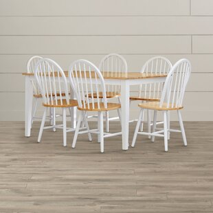 Galesburg 7 Piece Dining Set August Grove