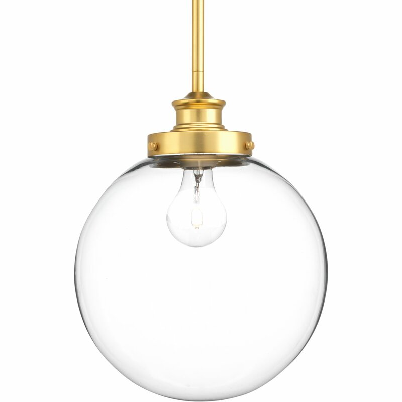 Cayden 1-Light Globe Pendant