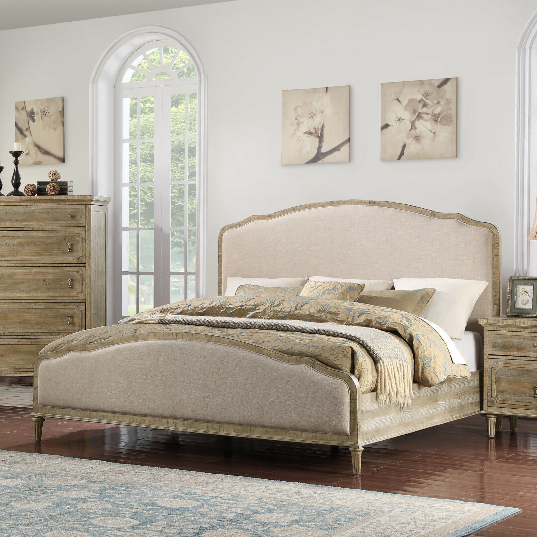 Three Posts Clintwood Upholstered Standard Bed Reviews Wayfair