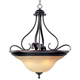 Fleur De Lis Living Winford 4-Light Bowl Pendant