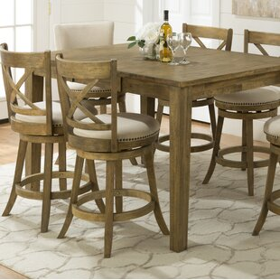 Lark Manor Forteau Counter Height Pub Table