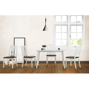 Spicer 5 Piece Dining Set Ebern Designs