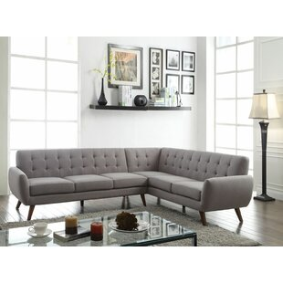 Zielke Right Hand Facing Sectional by George Oliver