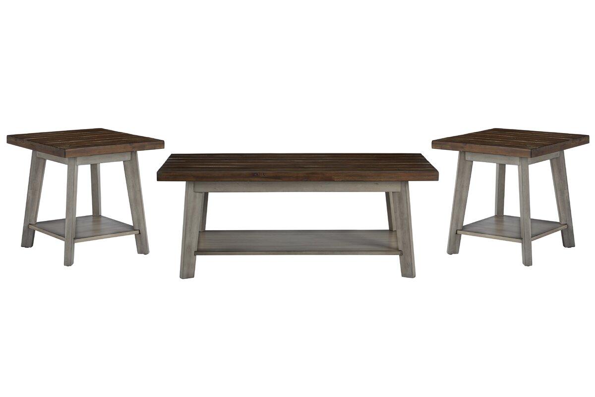 One Allium Way Addis 3 Piece Coffee Table Set & Reviews | Wayfair