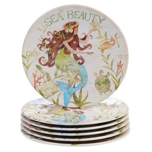 Griffin Melamine Salad/Dessert Plate Set (Set of 6)