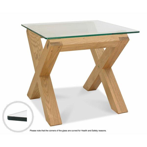 Glass Top Side Tables Wayfair Co Uk