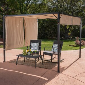 Anemone 9 Ft. W x 9 Ft. D Steel Gazebo