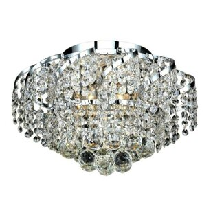 Rosdorf Park Antione 6-Light Flush Mount