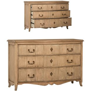 Nicholas 3 Drawer Dresser by One Allium Way